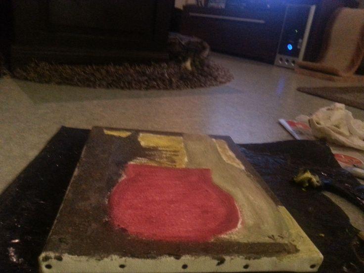 1. öljyvärimaalaus, jonka olen tehnyt. #art