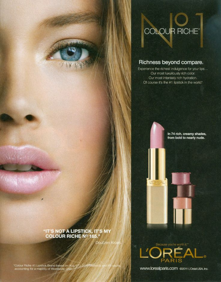 Doutzen Kroes For L Oreal Lipstick Lipstick Makeup