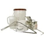Funnel Cake Tool Kit, Includes Pitcher, Spatula, Sifter,