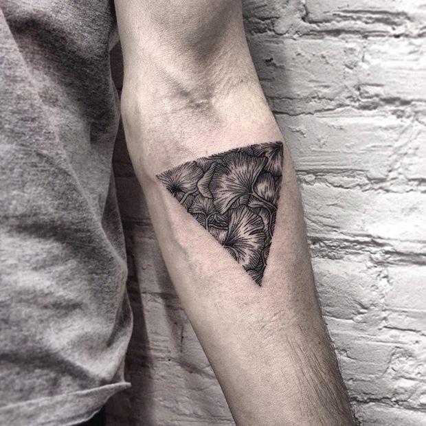 Roma Severov usa círculos e triângulos como padrão para criar incríveis desenhos…