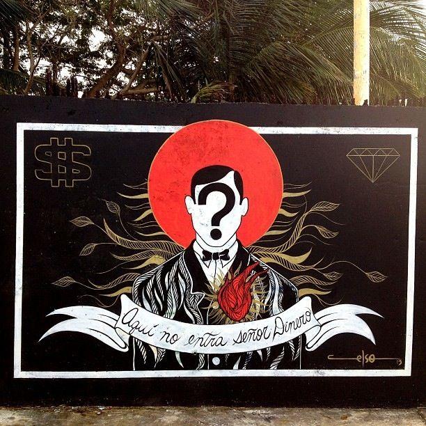 Celso Gonzalez Street Art In Punta Las Marias, Puerto Rico - StreetArt101