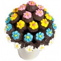 Rainbow Cookies Çikolata Sepeti