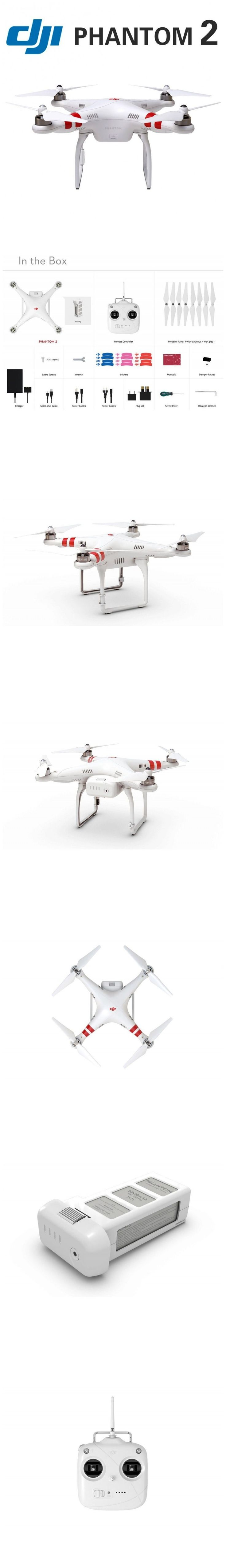 #Yitamotor - #UAV - DJI Phantom 2 QuadCopter Pro GPS Phantom2 w/ 4K HD Camera & #Gimbal #UAV Fedex Express