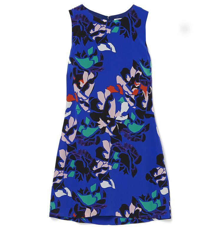 Marcs - SILK ROSE PRINT SHIFT DRESS