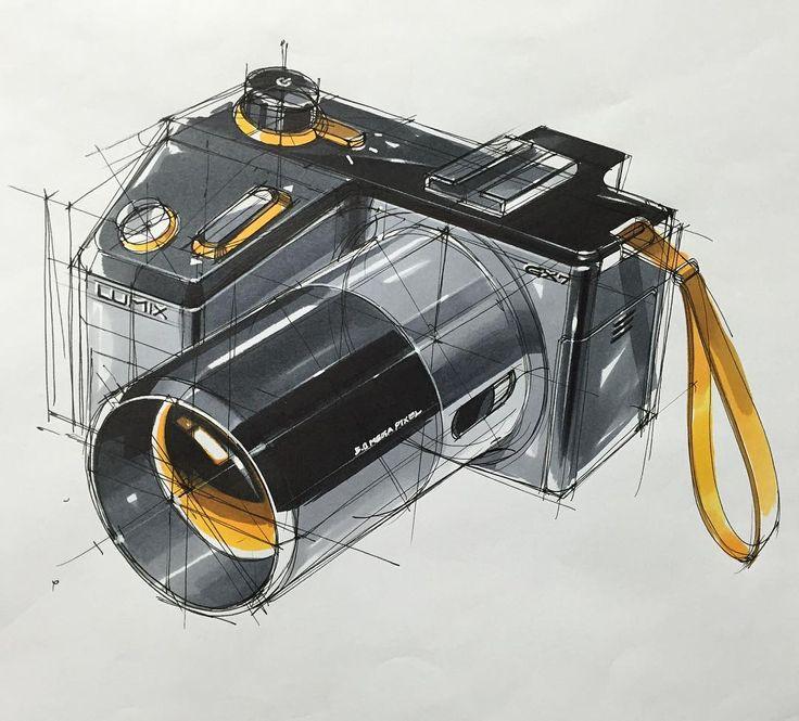 -Digital Camera Final Sketch- -Sketch Tutorial Book Sale- -amazon.com or co.uk search skeren- #skeren