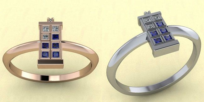 Jewellery designer Drew Rummell has created a collection of TARDIS rings, adorned with sparkling diamonds and blue sapphires. It's the ultimate engagement ring for that special Doctor Who fan in your life. While nothing says 'everlasting love' like a ring designed on a time machine, unfortunately, the $1,100 price tag won't give you powers to […]