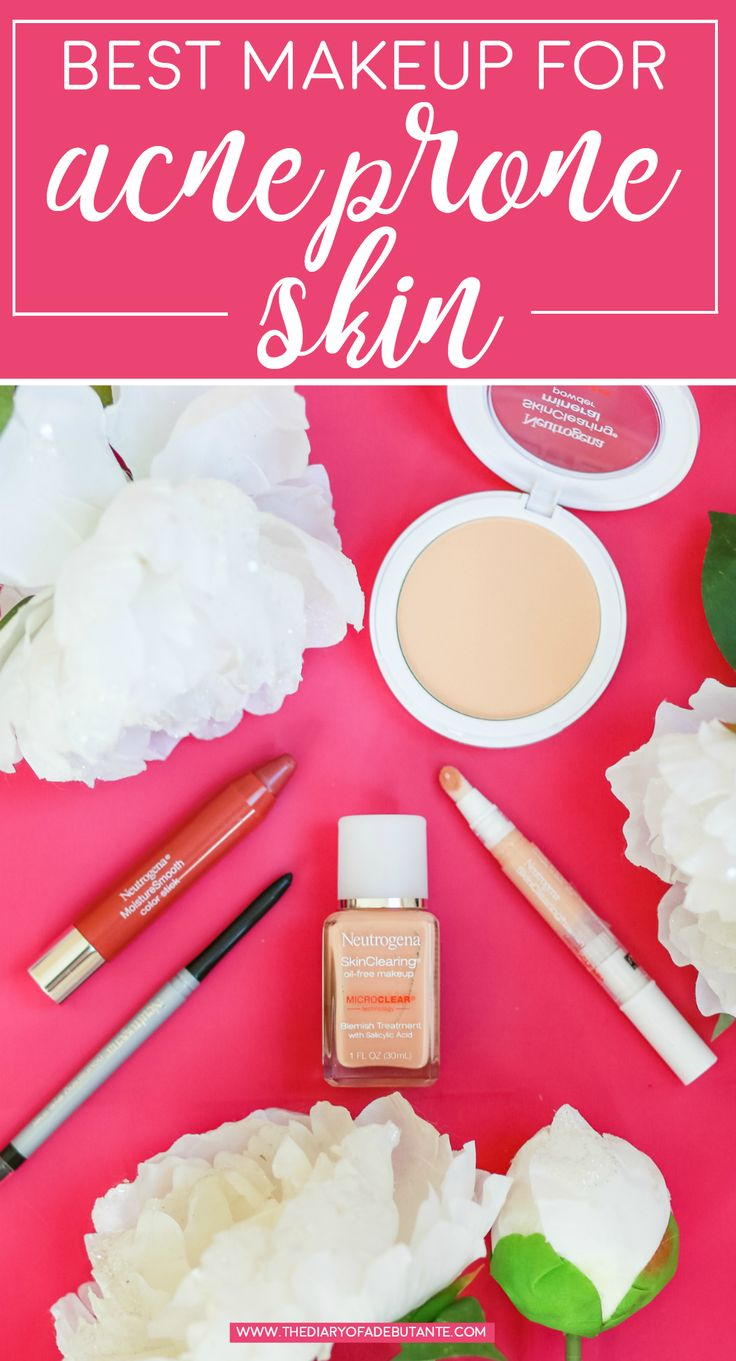 Game Day makeup tutorial using the best makeup from acne prone skin | Neutrogena Skin Clearing Makeup Review | Best Makeup for Acne Prone Skin by blogger Stephanie Ziajka from Diary of a Debutante #ad #SkinClearingMakeup