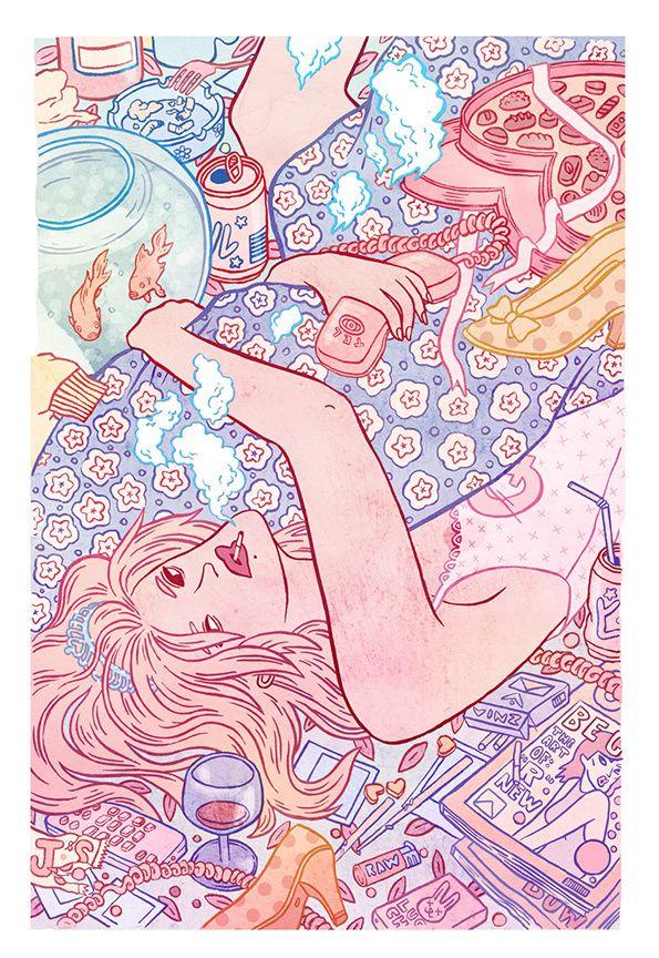 Kirsten Rothbart: Illustration