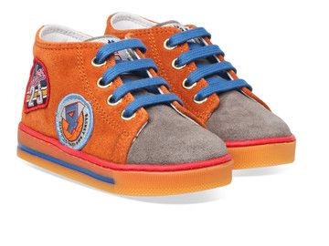 Oranje Naturino kinderschoenen Falcotto Billy boots