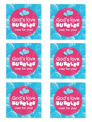 Printable Christian Valentines Teach Sunday School Valentine