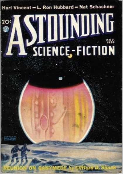 Astounding Science Fiction - Science Fiction - Harl Vincent - L Ron Hubbard - Nat Schachner