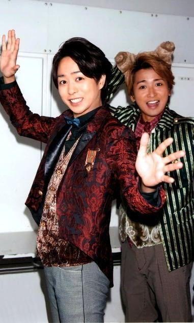 Sakurai Sho 櫻井 翔 +Ohno Satoshi