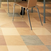 Marmoleum.  I'm interested in this natural linoleum for my home!