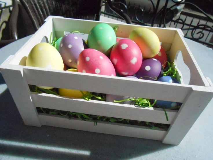 ΠΑΣΧΑΛΙΝΑ αυγά με ΧΡΩΜΑ ΖΑΧΑΡΟΠΛΑΣΤΙΚΗΣ | ΣΟΥΛΟΥΠΩΣΕ ΤΟ
