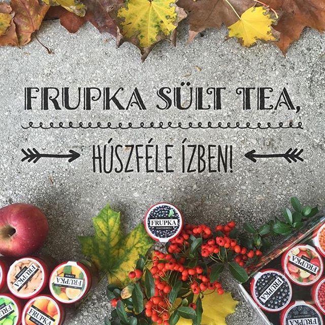 Próbáljátok ki mind a húsz ízben a legfinomabb gyümölcsös forró italt, ami csak létezhet - a Frupka sült teát! ☕ #frupka #sulttea #sülttea #mik_gasztro #ikozosseg #instahun #cseh #tea #különlegesség