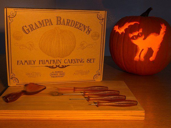 Pumpkin Carving Tools by Grampa Bardeen's