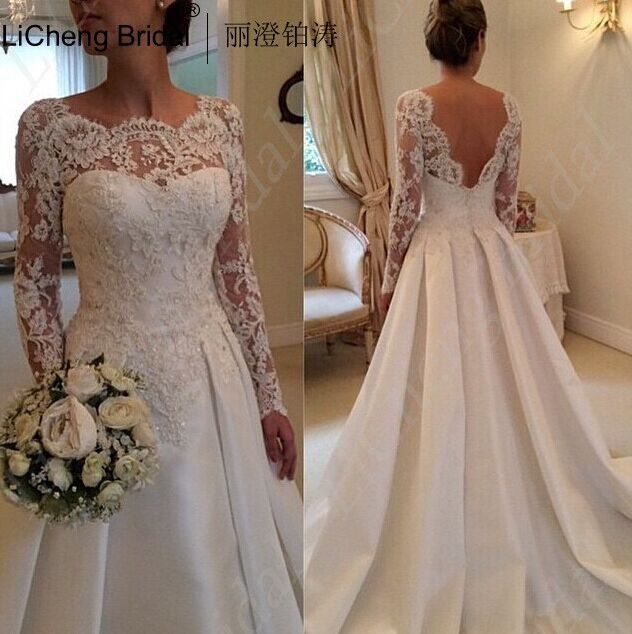 Popular  Plus size wedding dress I cannot express how much she did that and her