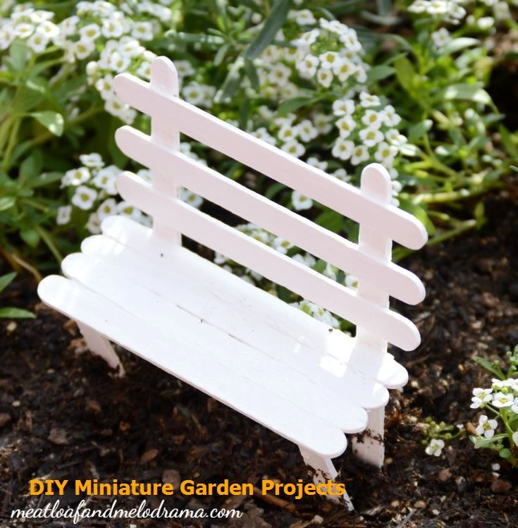 Fairy Garden Furniture, How To Make A Fairy Garden Furniture