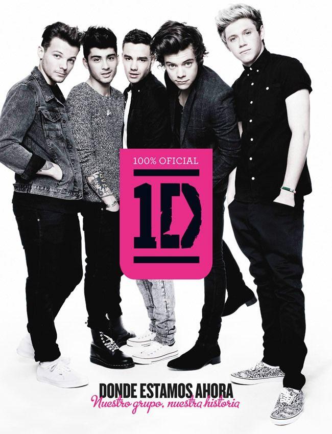 One Direction: Donde estamos ahora libro :D