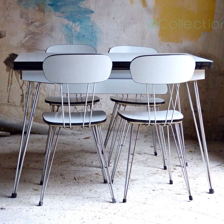 12 best cuisine vintage et formica images on pinterest vintage kitchen kitchens and formica table. Black Bedroom Furniture Sets. Home Design Ideas