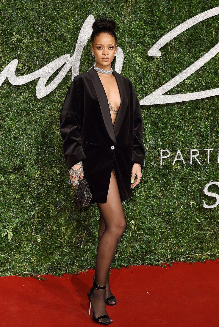 """ Rihanna at the British Fashion Awards in London """