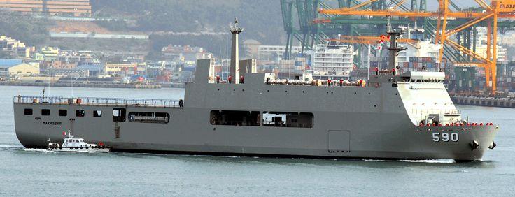 KRI Makassar (590) adalah sebuah kapal LPD buatan Daesun Shipbuildings & Engineering CO. Ltd, Korea Selatan. Kapal ini merupakan kapal pertama dari dua kapal yang dibangun di Korsel dan dirancang sebagai kapal LPD (Landing Platform Dock) atau kapal yang mempunyai platform docking dan undocking untuk mengoperasikan LCU.