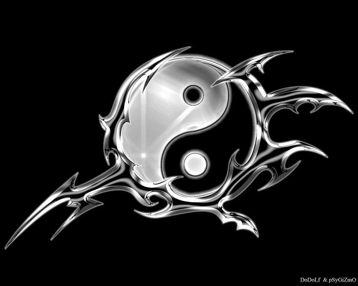 1000 id es propos de ying yang symbol sur pinterest cartes techniques pour faire des. Black Bedroom Furniture Sets. Home Design Ideas