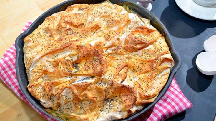 Ispanaklı Tava Böreği