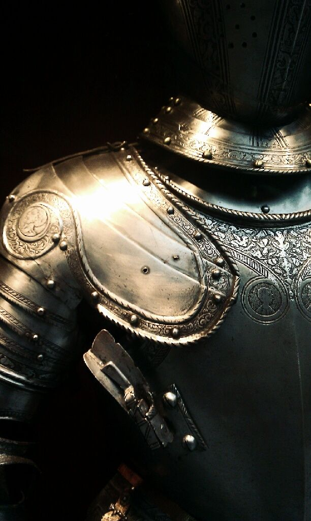 Cloak thyself in the armor of courage...The alpha male is courageous. He doesn't lack fear, rather, he accepts that it exists and faces it at every opportunity.