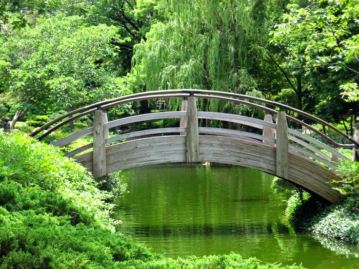 japanese garden bridge this garden but then again i m sure once i see the whole