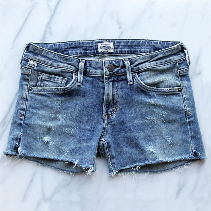 cut off jeans