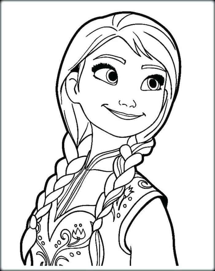 Princess Anna Coloring Page Youngandtae Com Disney Princess Coloring Pages Elsa Coloring Pages Princess Coloring Pages