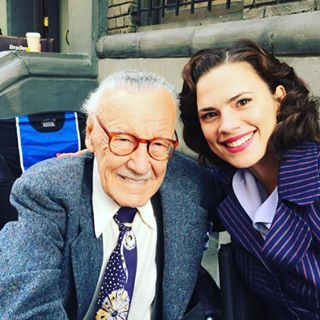"""When Peggy enlisted Stan Lee into her squad. 