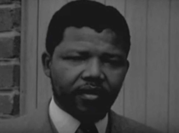 Watch: Nelson Mandela talks about the injustice of white supremacy in what may…