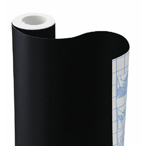 Chalkboard Contact Paper. Put on a wall, closet or frame.  Lots of possibilities!