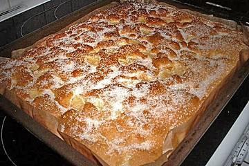 Apfelkuchen Großmutter Kunst   – Rezepte