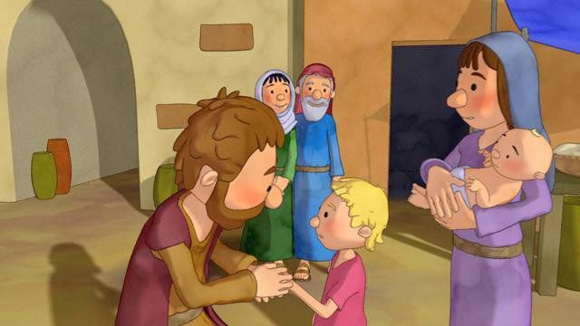 Jacob and Esau toddler video on Vimeo