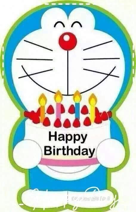 Doraemon Happy Birthday