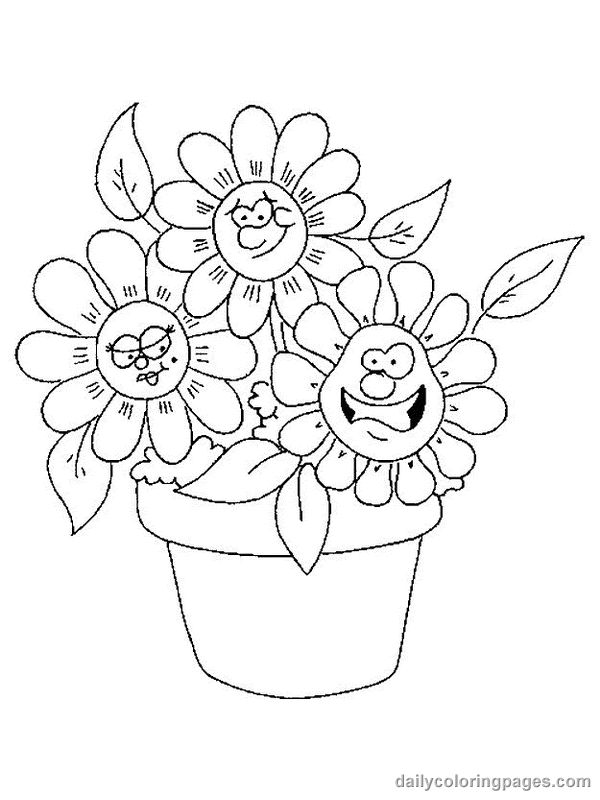 Coloring Pages Of Flowers Games : 27 best coloring pages images on pinterest