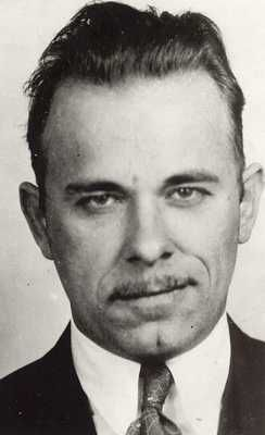 July 22, 1934. Bank robber John Dillinger is shot and killed outside a Chicago movie theatre by federal agents.