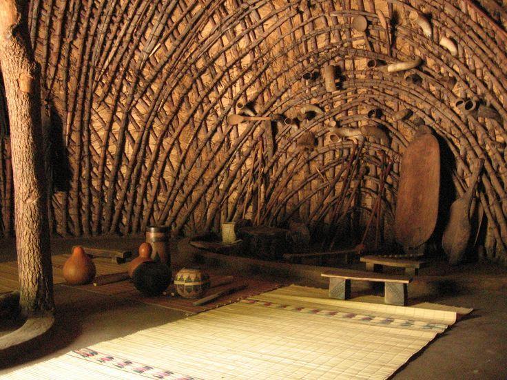 Bamboo Hut Construction