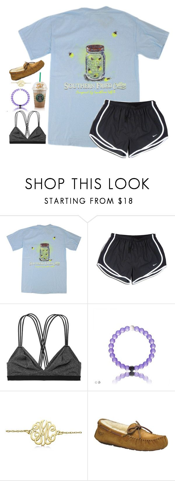 """Untitled #111"" by hannyjep on Polyvore featuring NIKE, Victoria's Secret, Allurez and UGG Australia"
