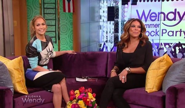 Jennifer Lopez In Fausto Puglisi – The Wendy Williams Show