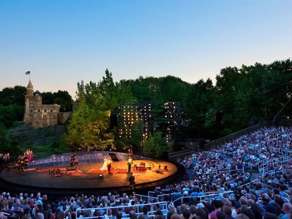Shakespeare in the park...New York