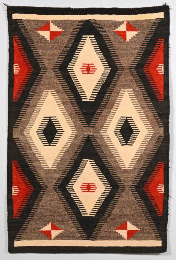 Native American Navajo Rug : Lot 515