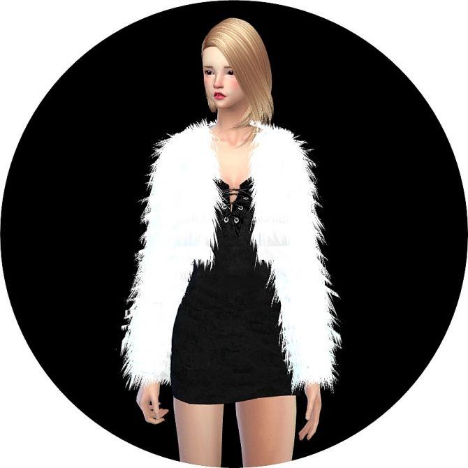 Acc Fur Jacket At Marigold Via Sims 4 Updates Sims 4