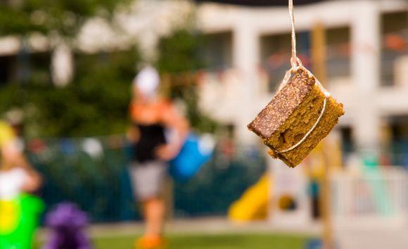 Oud-Hollandse spellen: koekhappen