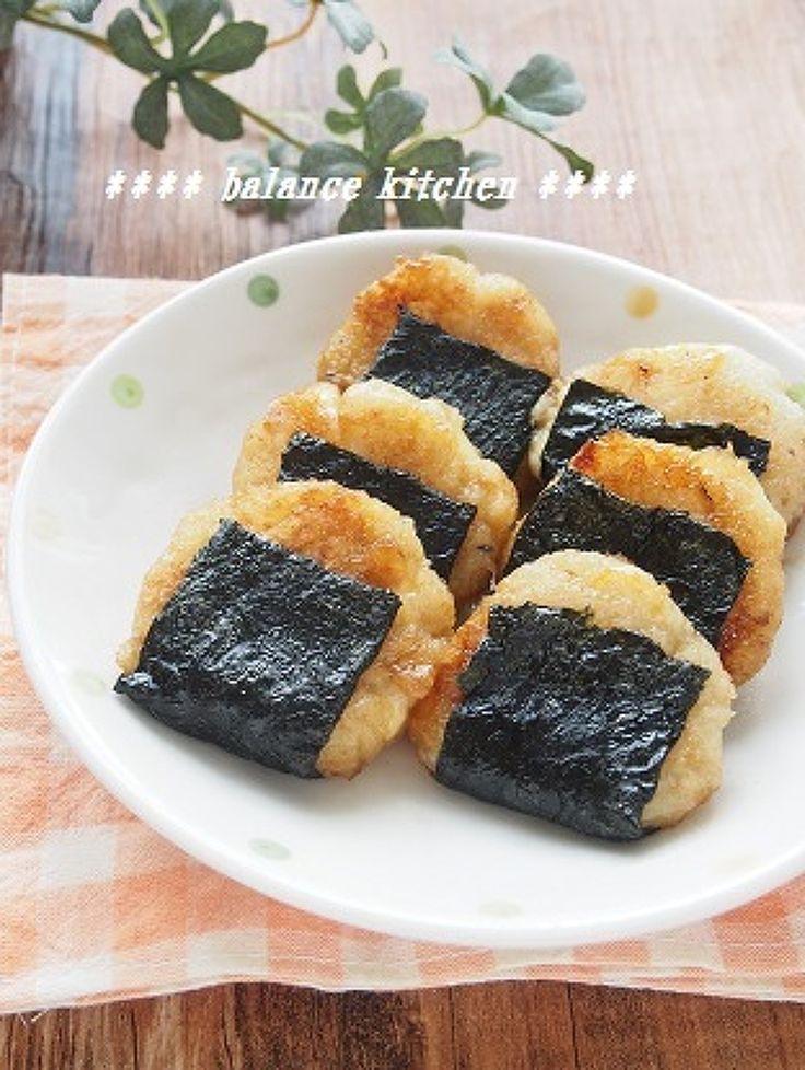 子供の健康おやつ。磯辺チーズれんこん餅 by 河埜 玲子