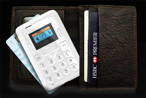 The HomeGo Credit Card Size Cell Phone is a credit card sized phone that can fit nicely inside your pocket or even your wallet.