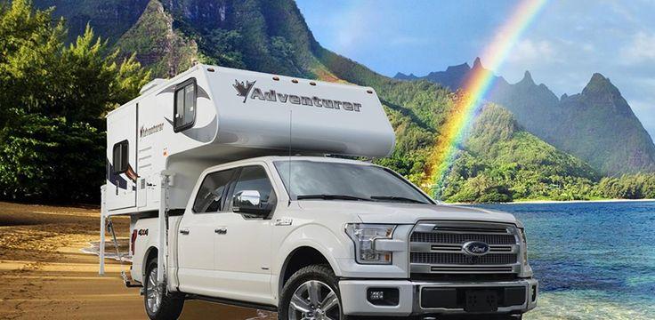 80GS Premium Pickup Campers, Slide in Campers by ALP